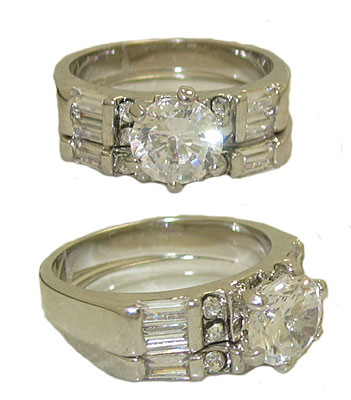 Wedding Ring Set is a Best Seller