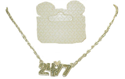 Authentic Disney Necklace with mouse logo