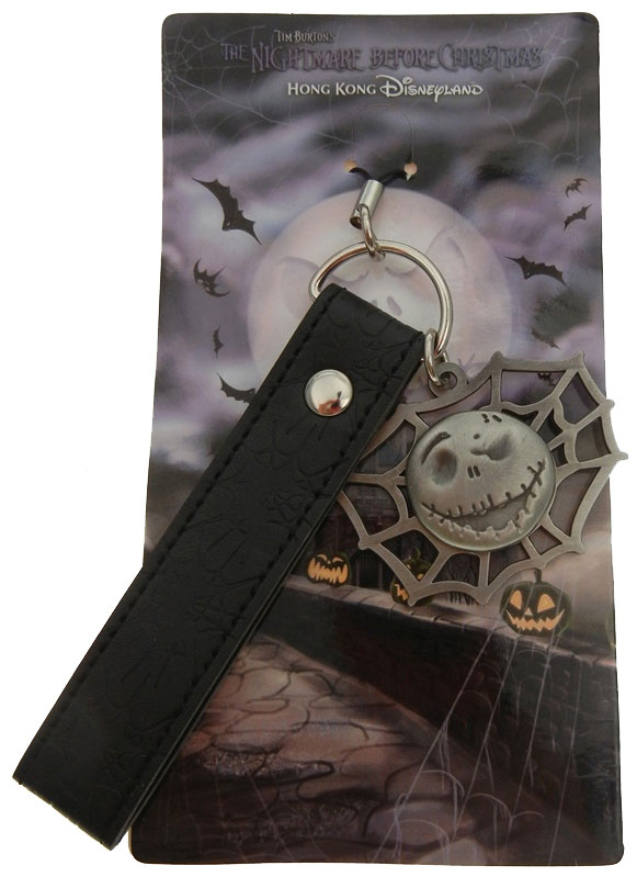 Disneyland Hong Kong The Nightmare Before Christmas Cell Phone Fob