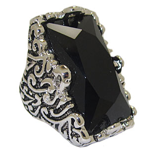 Large Black Wholesale Stone Ring