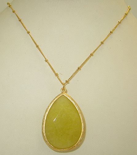Genuine Natural Gemstone Pendant