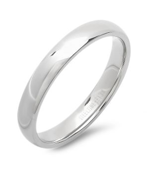 Steel Slim Wedding Band Ring wholesale jewelry