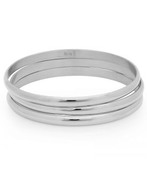 3 Stainless Steel Bangle for Children Set