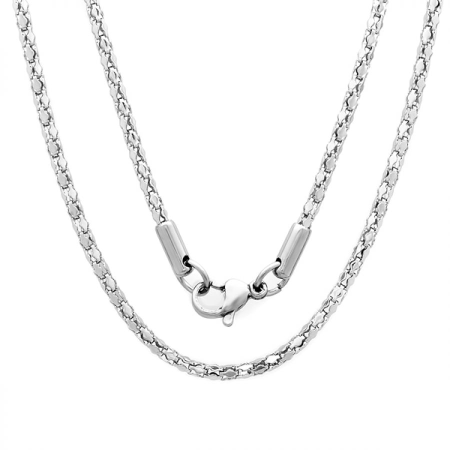 Stainless Steel Necklace 18 inch chain