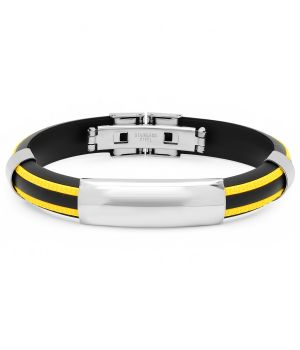 Men's Rubber Bracelet