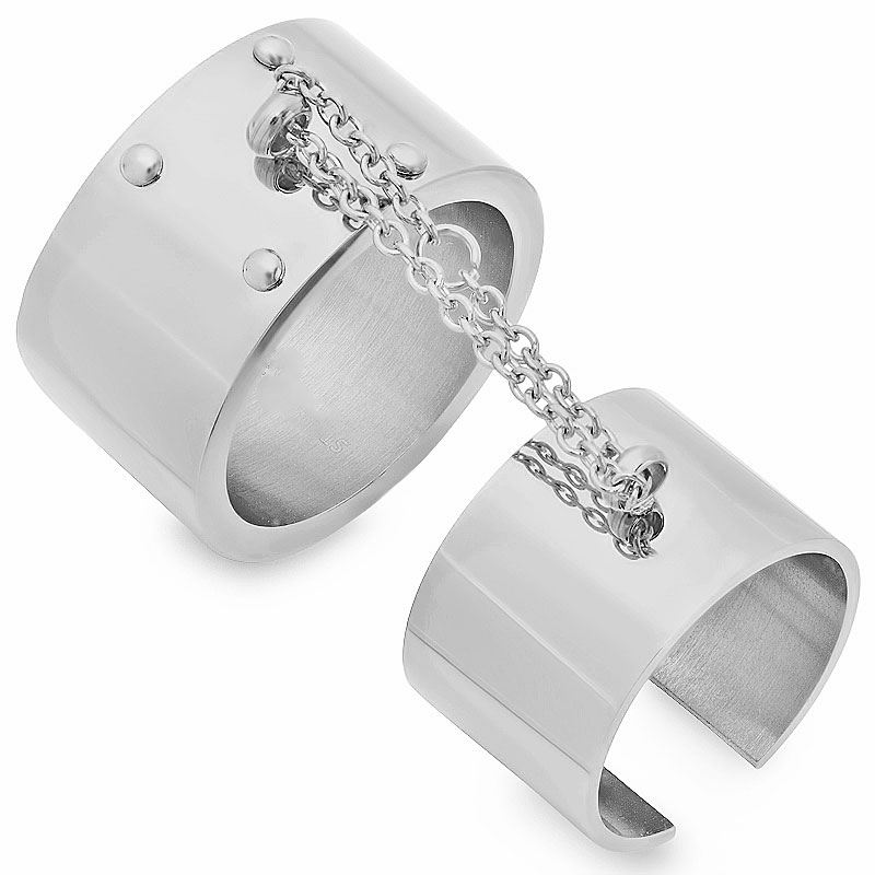 Stainless Steel Double Rings Wholesale