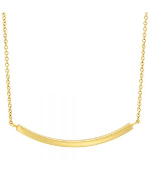 Ladies 18kt Gold Plated Stainless Steel Necklace
