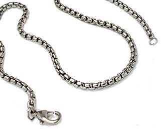 Silver Designer Chain 18 inches