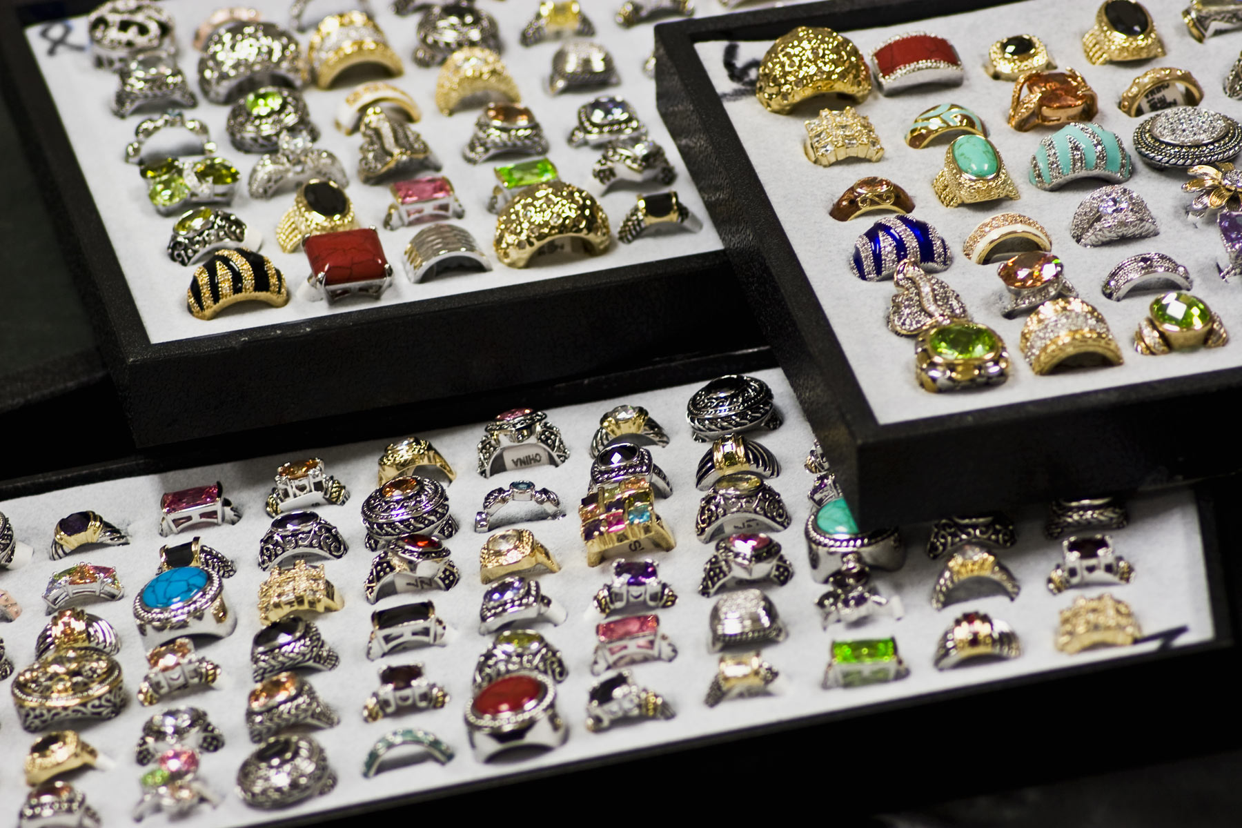 High Quality CZ Fashion Rings Incredibly Priced