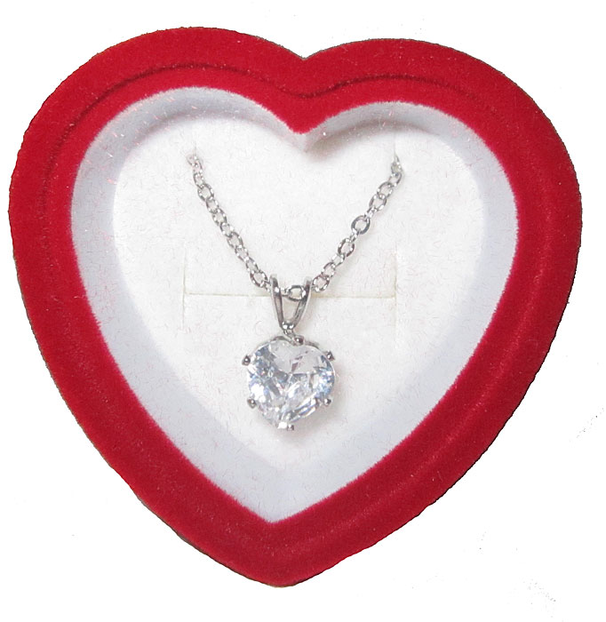 Heart CZ Pendent