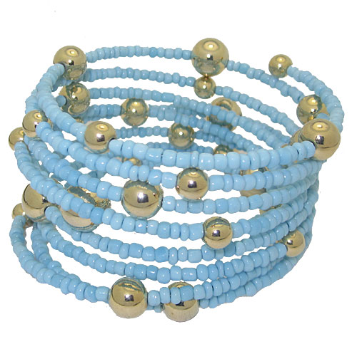 MX Signature Collection Multi Strand Bracelet Blue