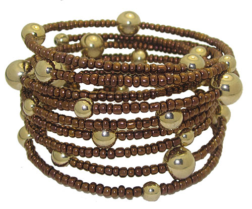 MX Signature Collection Multi Strand Bracelet Bronze