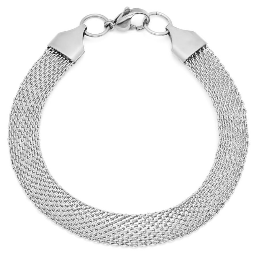 Ladies Stainless Steel Bracelet Mesh