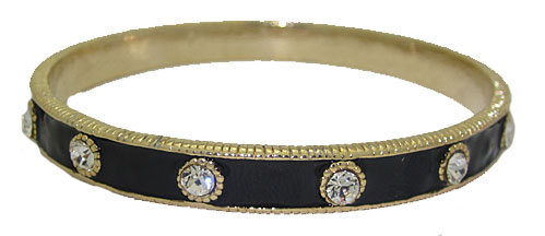 MX Wholesale Bangle Bracelet in Enamel in Cz's