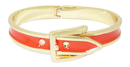 MX Wholesale Designer Buckle Bracelet hinged Orange