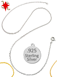 Sterling Silver Neck Chains