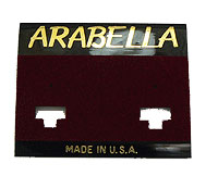 Made in USA Earrring Card wholesale