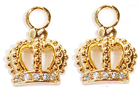 Crown Earring Charms wholesale