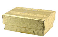 Boxes Wholesale Jewelry Boxes with Cotton wholesale 2 1/2 X 1 1/2 X 3/4