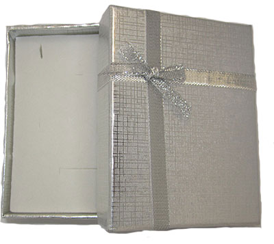 Silver Foil Boxes with box