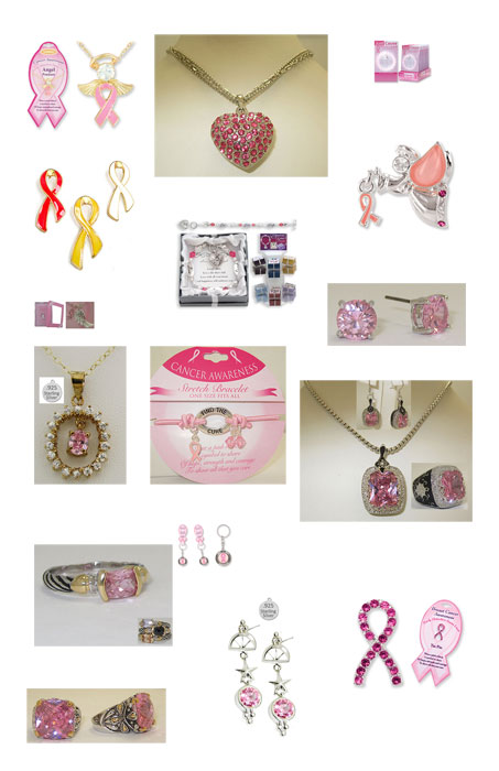 BREAST CANCER AWARENESS wholesale jewelry