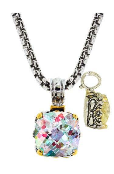 Designer Cable Jewelry Necklace AB
