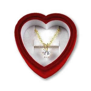 Heart+CZ+Pendent+