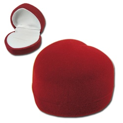 Domed Heart Ring or Earring Box
