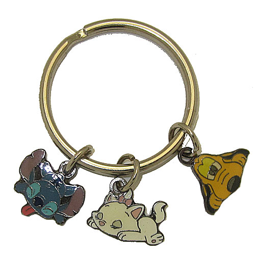 Disney+Key+Rings+Pluto%2C+Stitch+%26+Marie