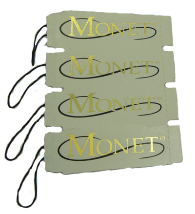 100 Monet Designer Tags wholesale