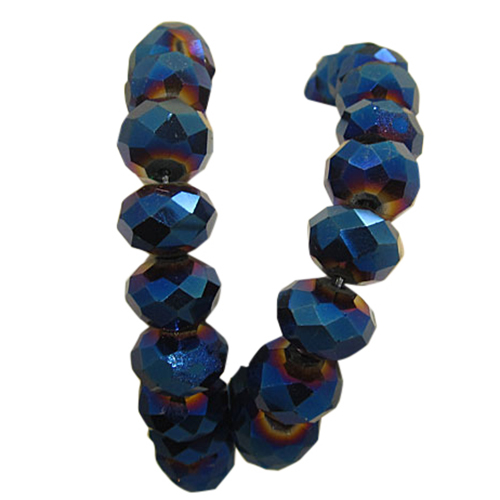 Midnight Blue AB Stretch Wholesale Bracelets