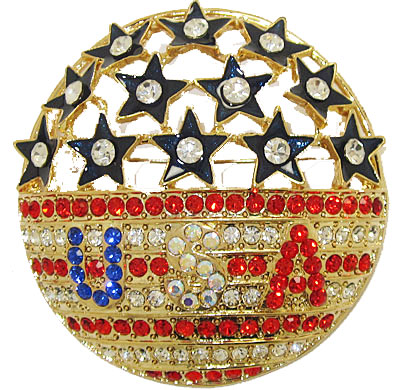 Star Spangled Banner USA wholesale Pin