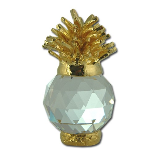 Pineapple+figurine+handmade+Bohemia+lead+crystal