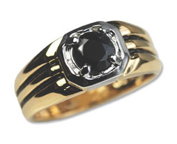 MEN'S wholesale Genuine Onyx Ring