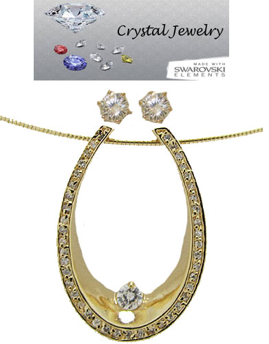 CZ Designer Wholesale Necklace Earring Set 2 pcs