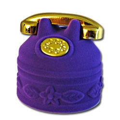 Telephone Ring Pendant Eearring Box