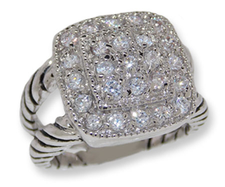 Designer Ring Wholesale in Cable Style