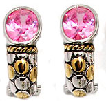Pink Wholesale Designer Cz Fashion Earring Special