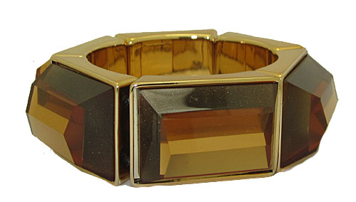 Genuine Coldwater Creek Lucite Bangle Stretch Bracelets