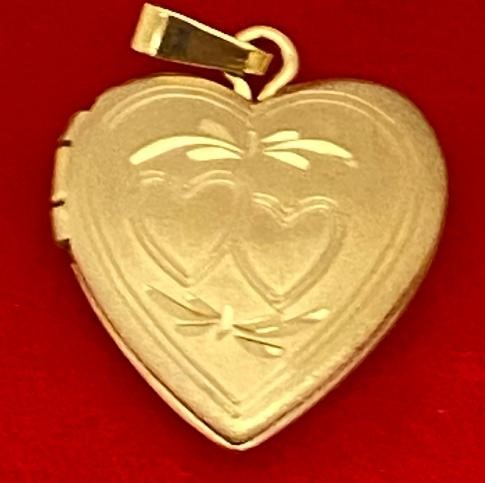 Gold filled locket