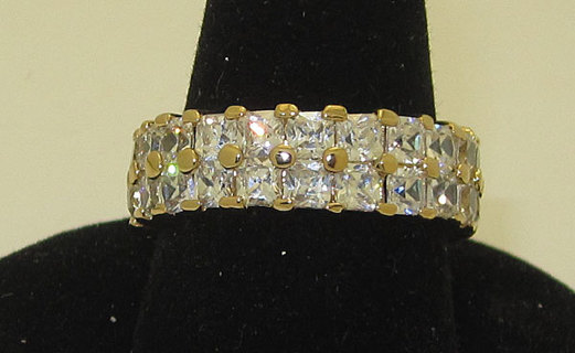 Celebrity+Eternity+Ring+in+yellow+gold+in+Many+Sizes