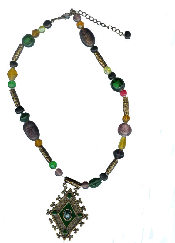 Semi Precious Gemstone Wholesale Necklace